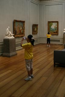 watching paintings