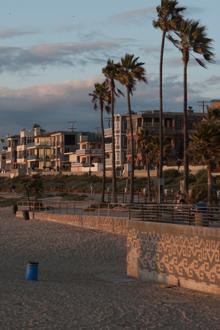 a windy venice beach